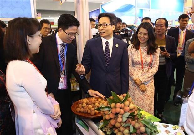 政府副总理武德儋出席第五届南博会和第25届昆交会开幕式 hinh anh 3