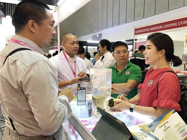 2018年越南美容博览会在胡志明市开幕 hinh anh 1