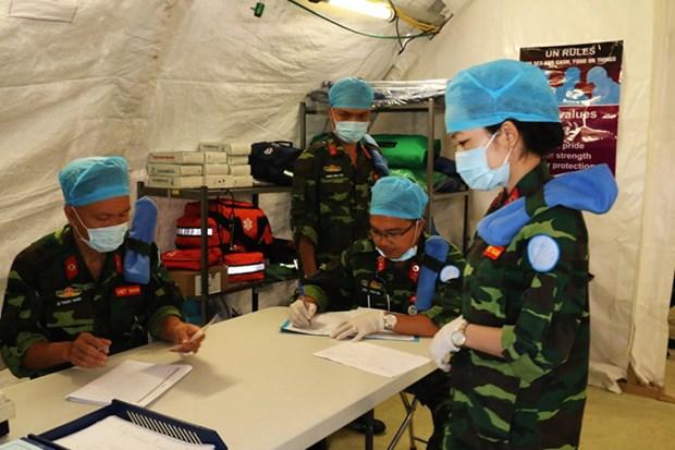 越南野战医院为参与南苏丹维和任务做好了充足的准备 hinh anh 1