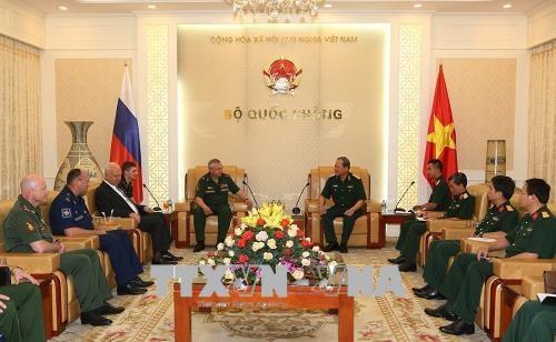 越俄加强在联合国维和行动领域的合作 hinh anh 1