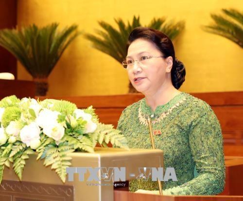 越南第十四届国会第五次会议正式闭幕 hinh anh 1