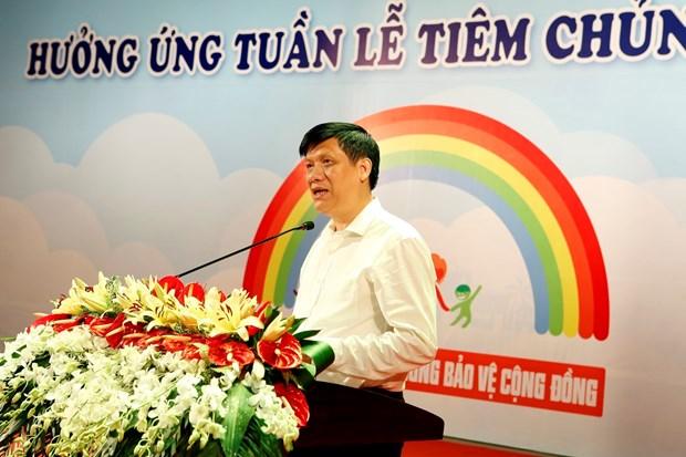 越南通过免疫规划实现保护儿童免受疾病工作中获得可喜成果 hinh anh 1