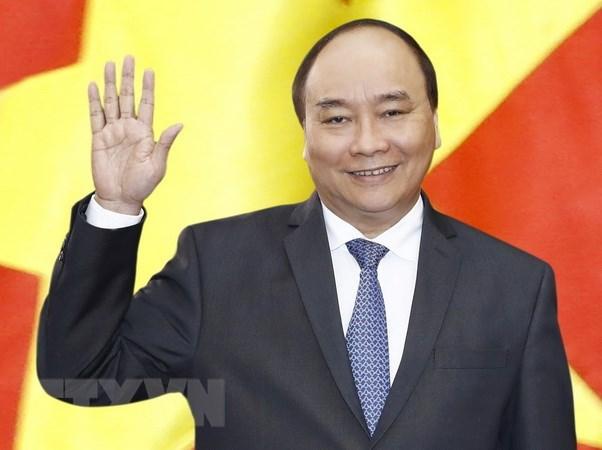 越南政府总理阮春福启程前往泰国出席ACMECS 8 和CLMV 9 hinh anh 1