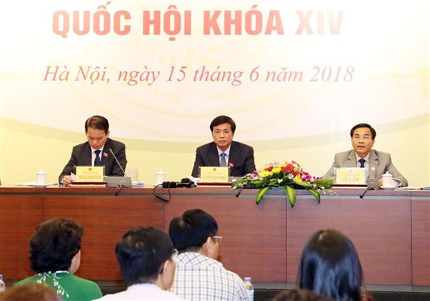 第十四届国会第五次会议:质询和答复质询工作有创新 hinh anh 1
