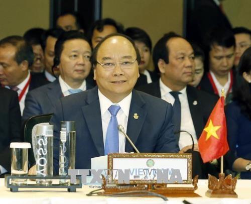 越南政府总理阮春福出席第九届柬老缅越峰会(CLMV9) hinh anh 1