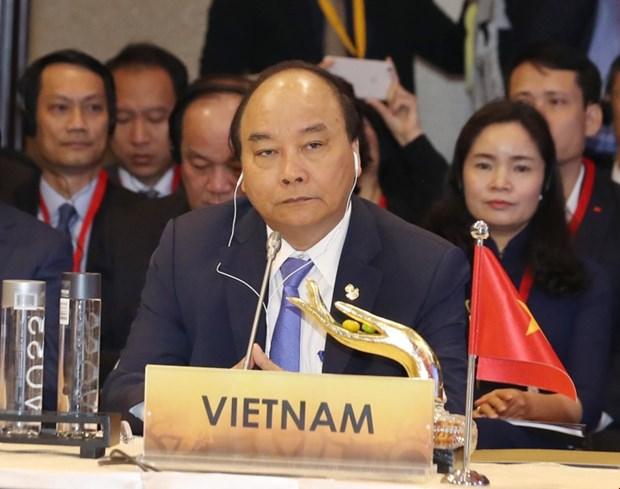 阮春福出席第八届ACMECS峰会 为ACMECS合作积极建言献策 hinh anh 1