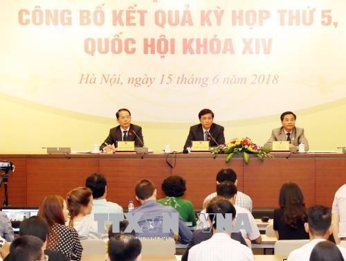 第十四届国会第五次会议:国会议事方式有变化 从发表意见转为争论 hinh anh 1