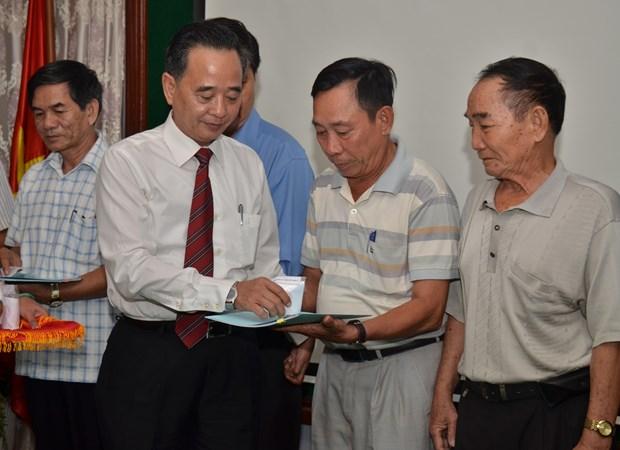 柬埔寨高棉-越南协会列入柬埔寨内务部协会注册薄 hinh anh 1