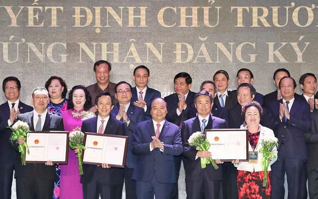 河内市向71个投资总额超170亿美元项目颁发投资许可证 hinh anh 1