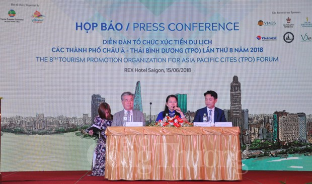 2018年第八届亚太城市旅游振兴机构论坛即将在胡志明市举行 hinh anh 1