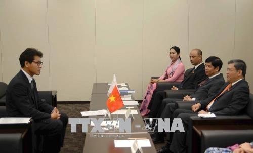 越南国会对外委员会主任阮文酉对日本进行工作访问 hinh anh 1