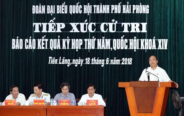 政府总理阮春福:时时刻刻保持高度警惕 避免被极端分子利用 hinh anh 1