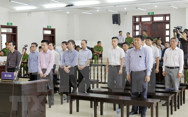 越南国家油气集团将8000亿越盾入股大洋股份商业银行案二审19日开庭 hinh anh 1