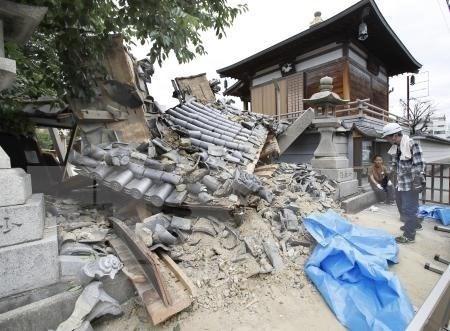 尚无越南公民在日本6.1级地震中伤亡的报告 hinh anh 1