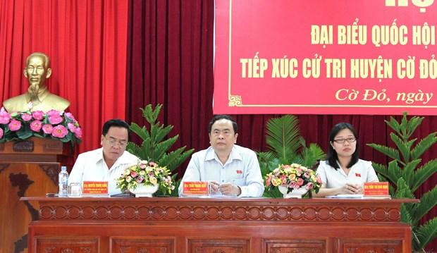 国会代表在全国各地开展接待选民活动 倾听选民的心声与愿望 hinh anh 1