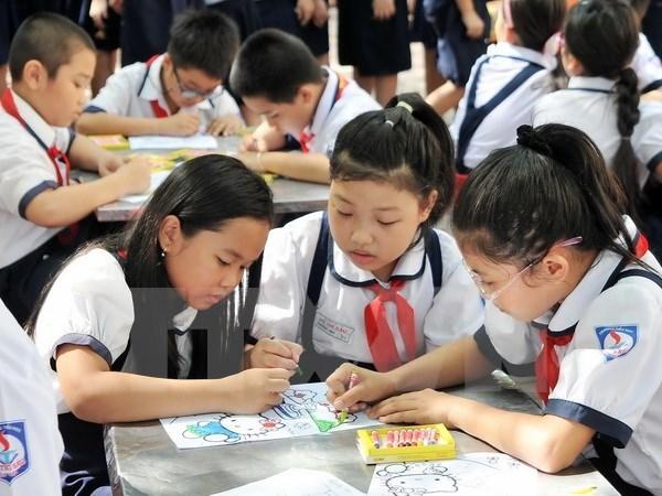 越南促进对初中等教育课程教材的改革 hinh anh 1