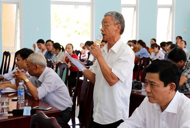 国会代表在全国各地开展接待选民活动 倾听选民的心声与愿望 hinh anh 2