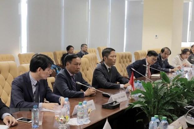 越南与欧亚经济联盟促进合作关系 hinh anh 1
