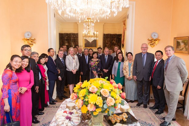 美国国务院高度评价范光荣大使为促进双边关系所做出的积极贡献 hinh anh 1