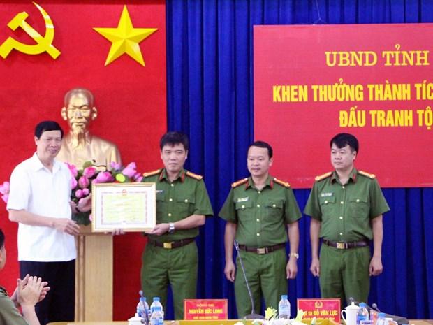 广宁省警方破获运输毒品案缴获赃物近24公斤 hinh anh 1