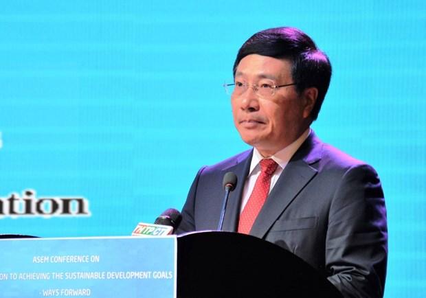 ASEM携手应对气候变化会议是越南获得国际协助的机会 hinh anh 1