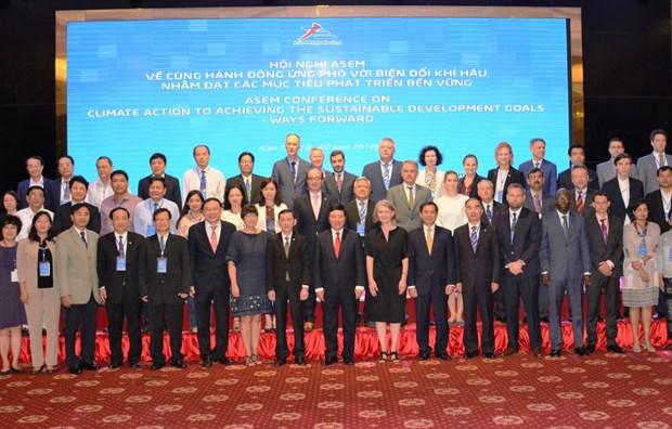 ASEM携手应对气候变化会议是越南获得国际协助的机会 hinh anh 2