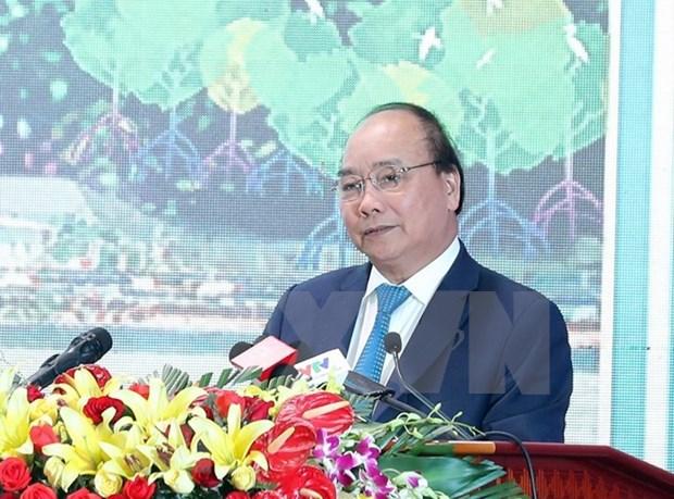"""政府总理阮春福:在不久的将来朔庄省将成为各家投资商的""""银库"""" hinh anh 1"""