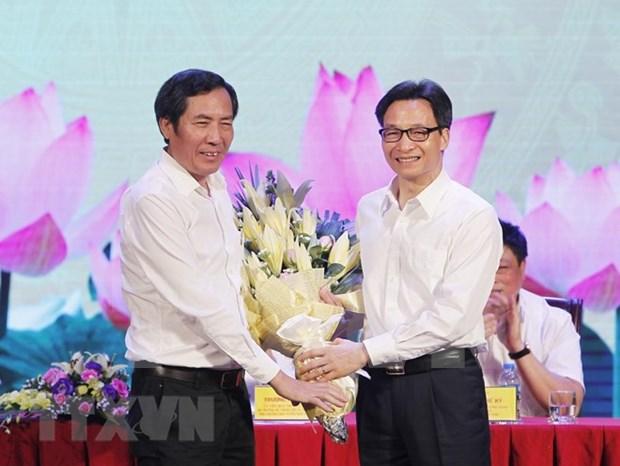 越南革命新闻93周年:国家领导向全国新闻工作者致以节日祝贺 hinh anh 1