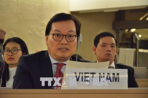 联合国人权理事会第38次会议开幕 hinh anh 2