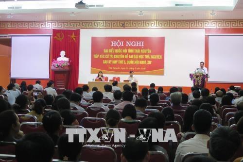 国会代表展开接待选民活动 倾听选民的意见 hinh anh 1