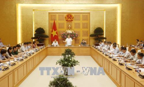 越南反洗钱指导委员会第一次会议在河内召开 hinh anh 1