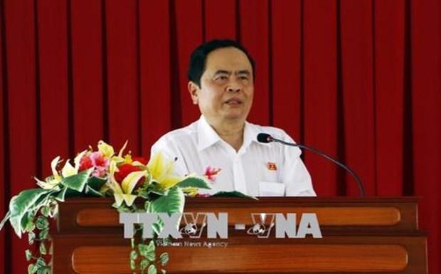 越南革命新闻日:陈青敏向越南电视台和越南之声致以节日祝福 hinh anh 1