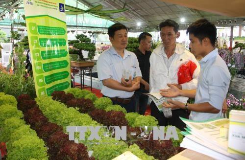 2018年种子种苗与高科技农业展览交易会在胡志明市开幕 hinh anh 2