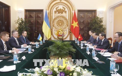 越南与乌克兰外交部举行副部长级政治磋商 hinh anh 1