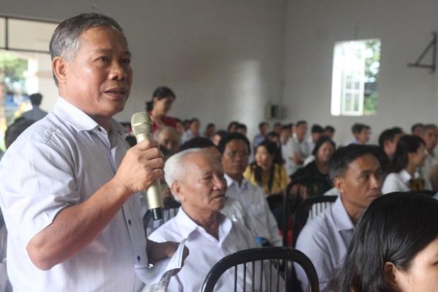 选民对《特别行政经济单位法》给予高度关注 hinh anh 2