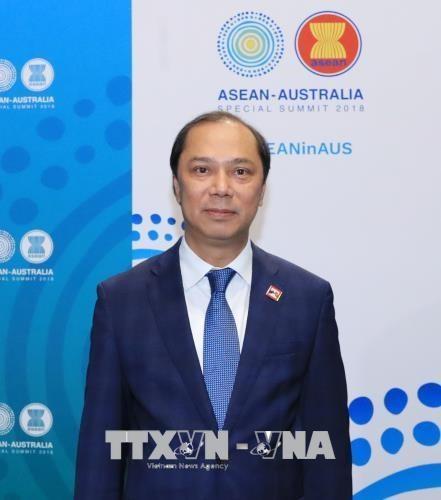 越南出席第22届东盟—韩国对话会 hinh anh 1