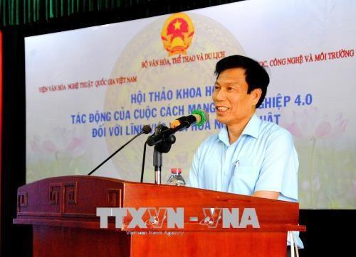 第四次工业革命对越南文化艺术带来的影响 hinh anh 1