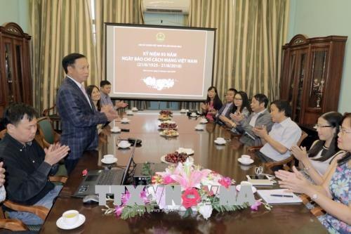 越南革命新闻日纪念活动在俄罗斯举行 hinh anh 1