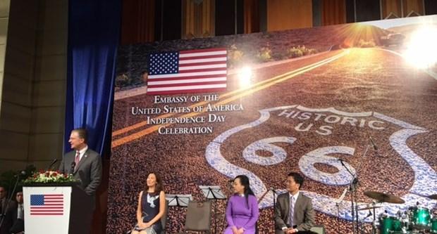 美国国庆242周年纪念典礼在河内举行 hinh anh 1