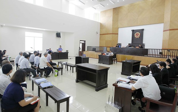 PVN案二审:检察院建议维持对丁罗升和同案犯的原判 hinh anh 1