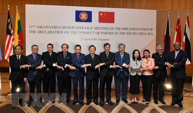 落实《东海各方行为宣言》第15次高官会将在中国湖南举行 hinh anh 1