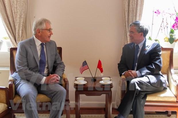越南与美国加强两国国会关系 hinh anh 2
