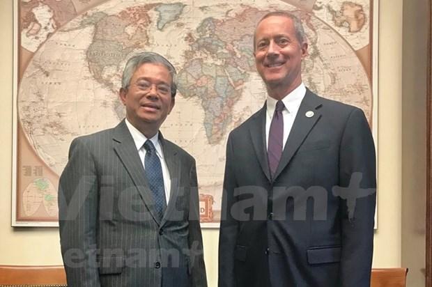 越南与美国加强两国国会关系 hinh anh 1