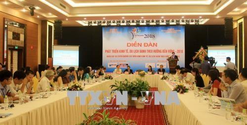 广宁省推动绿色经济和绿色旅游可持续发展 hinh anh 1