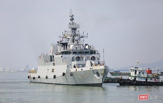 """印度海军舰船访问印尼 大力推进""""向东行动"""" hinh anh 1"""
