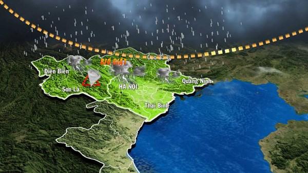 自然灾害区域划分与自然灾害预警风险警示图绘制更新计划获批 hinh anh 1