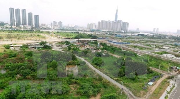 越南政府对胡志明市和坚江省土地使用规划方案进行调整 hinh anh 1