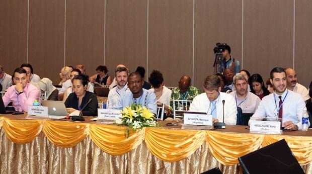 全球环境基金第六届成员国大会第二个工作日议程密集 hinh anh 2
