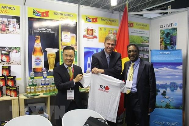 越南参加南非最大的国际贸易活动 hinh anh 1
