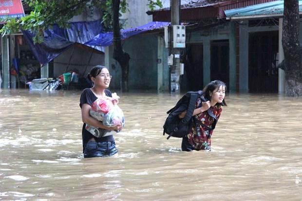 北部山区暴雨洪水灾害:河江和莱州两省死亡和受伤人数20人 hinh anh 1